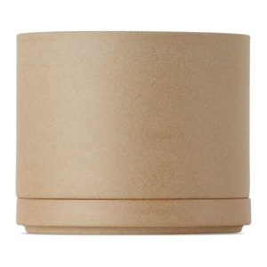 Hasami Porcelain Beige HP045/HP002 Planter