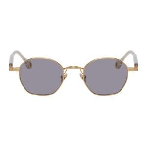 Etudes Gold Liberte Sunglasses