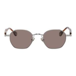 Etudes Silver and Tortoiseshell Liberte Sunglasses