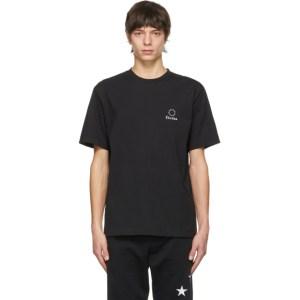Etudes Black Wonder Logo T-Shirt