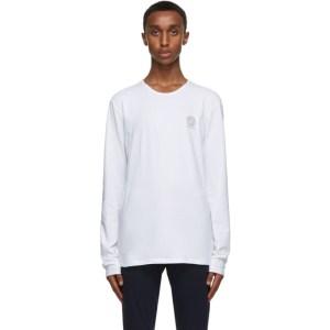 Versace Underwear White Medusa Long Sleeve T-Shirt