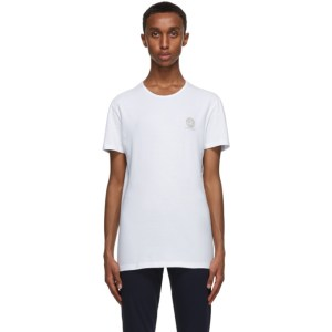 Versace Underwear Two-Pack White Medusa T-Shirt