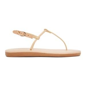 Ancient Greek Sandals Tan Katerina Sandals