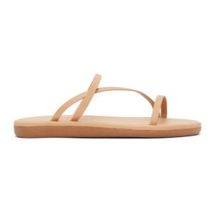 Ancient Greek Sandals Tan Parthena Sandals