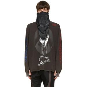 99% IS Black Skull Neck Warmer Face Mask