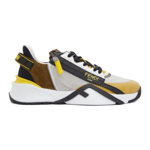 Fendi Multicolor Flow Sneakers