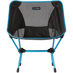 Helinox Blue and Black Canvas One Chair