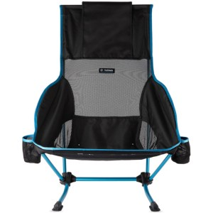 Helinox Black and Blue Canvas Playa Chair