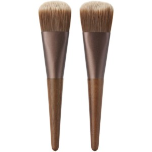 Shaquda Walnut Naderu Face Brush Set