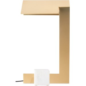Lambert and Fils Brass Clark Table Lamp