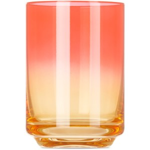Lateral Objects Pink and Orange Bali Gradient Glass