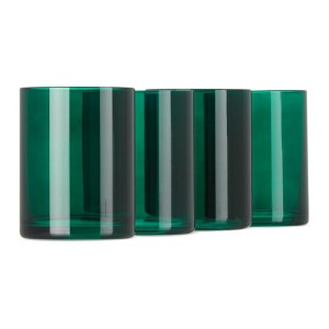 Lateral Objects Green Gem Tumbler Set