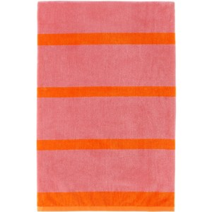 Lateral Objects Pink and Orange Stack Towel