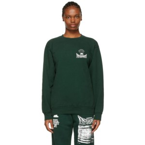 Total Luxury Spa Green Underwater Dream Sweatshirt