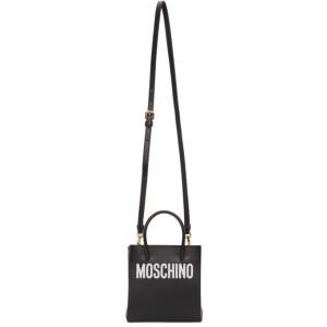 Moschino Black Logo Shopper Bag