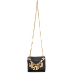 Moschino Black Smiley© Edition Shoulder Bag