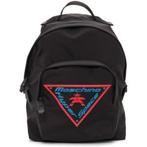 Moschino Black Fantasy Backpack