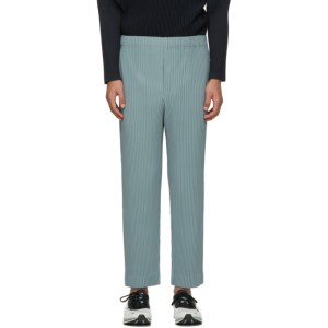 Homme Plisse Issey Miyake Grey Monthly Colors November Trousers