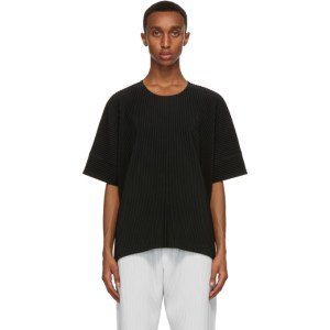 Homme Plisse Issey Miyake Black Monthly Colors August T-Shirt