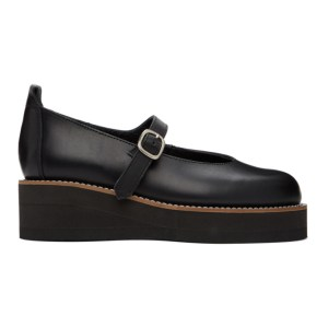 Ys Black Platform Mary Jane Oxfords