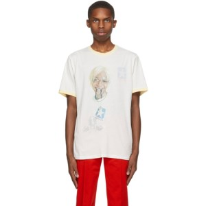 Telfar Reversible Off-White Converse Edition Coach T-Shirt