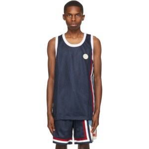Telfar Navy Converse Edition Basketball Jersey Tank Top