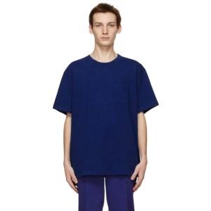 John Elliott Blue Lucky Pocket T-Shirt