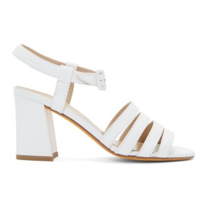 Maryam Nassir Zadeh White Palma High Sandals