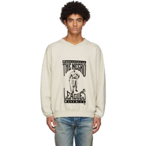 Fear of God Beige Felted Graphic Sweatshirt