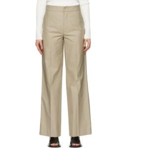 GAUCHERE Beige Seline Trousers