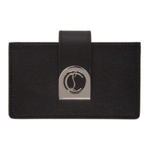 Christian Louboutin Black Elisa Accordeon Card Holder