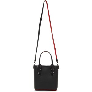 Christian Louboutin Black Mini Cabata Tote