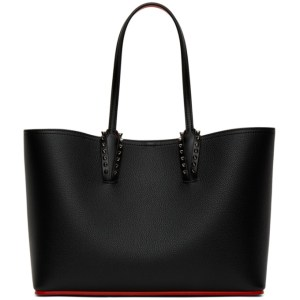 Christian Louboutin Black Small Cabata Tote