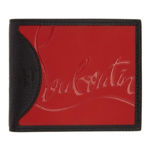 Christian Louboutin Black Coolcard Sneakers Wallet