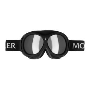 Moncler Grenoble Black Mirror Ski Goggles