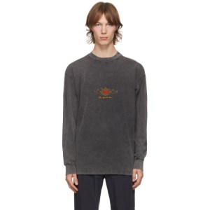 Han Kjobenhavn Grey Boxy Long Sleeve T-Shirt