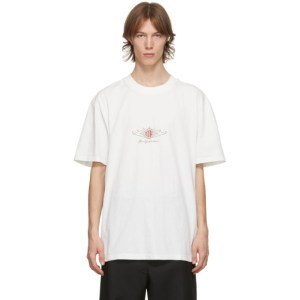 Han Kjobenhavn Off-White Cotton Boxy T-Shirt