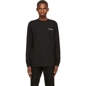 Han Kjobenhavn Black Casual Long Sleeve T-Shirt