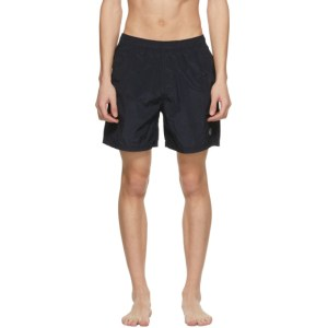 Stone Island Navy Logo Patch Swimsuit