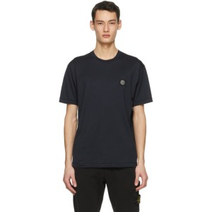Stone Island Navy Logo Patch T-Shirt