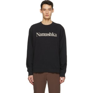 Nanushka Black Remy Sweatshirt