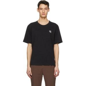 Nanushka Black Reece T-Shirt