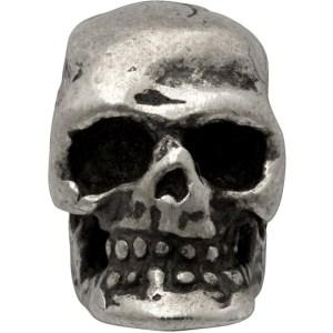 Emanuele Bicocchi Silver Tiny Skull Single Earring