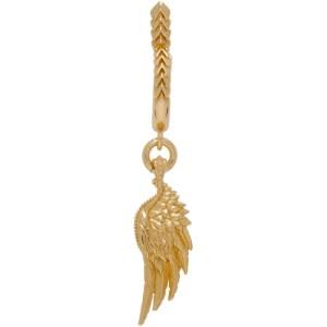 Emanuele Bicocchi Gold Wing Single Earring