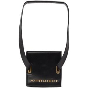 Y/Project Black Mini Accordion Bag