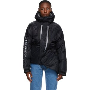 Y/Project Black Canada Goose Edition Down Skreslet Jacket