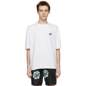 Saturdays NYC White Rose T-Shirt