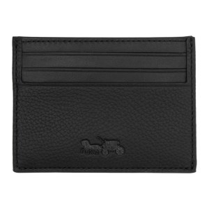 Coach 1941 Black Horse and Carriage Card Holder