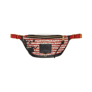 Coach 1941 Black and White Keith Haring Edition Mickey Rivington Belt Bag