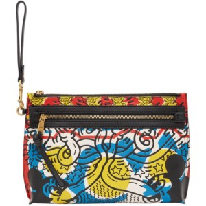 Coach 1941 Multicolor Keith Haring Edition Mickey Pouch